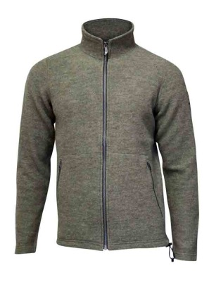 Ivanhoe Bruno Full Zip - Lichen Green S