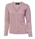 Ivanhoe Cashwool Female Cardigan - Pink 46
