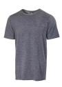 Ivanhoe Underwool Harry Short Sleeve - Graphite marl 3XL