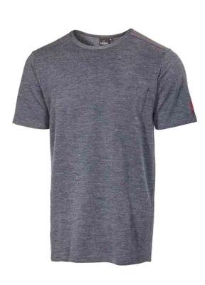 Ivanhoe Underwool Harry Short Sleeve - Graphite marl S