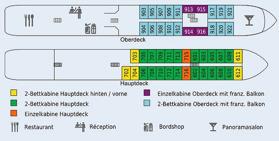 Däckplan M/S Florentina (klicka för större bild)