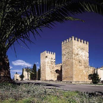 Alcudia på nordöstra Mallorca