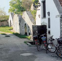 Paus i cyklingen med besök i vinkällare