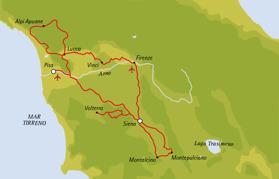 Sträckning 620 km (klicka för större bild)