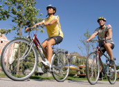 Unisex-cykel 7 eller 21 växlar.