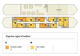 Däckplan M/S Caprice (klicka för större bild)