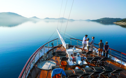På kryss i Dalmatiens övärld.