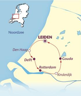 Södra Holland 170-200 km (Klicka för större bild)