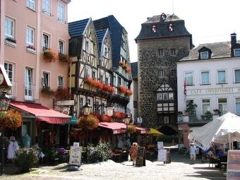 Charmigt torg i Linz