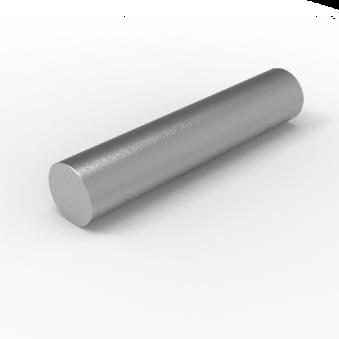 Varmvalsad stång <br> RB110_C45R_HR<br> L=0,6m