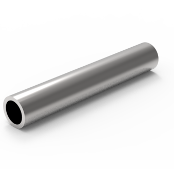 Sömlösa varmvalsade stålrör <br>HR203,00x25,00_S355J2H<br>L=1,24m -