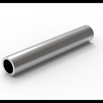 Sömlösa varmvalsade stålrör <br>HR244,50x60,00_S355J2H<br>L=1,00m -