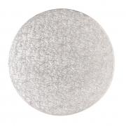 Tårtbricka 25cm Silver