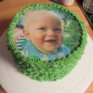 tårtbild sockerbild tårtdekoration