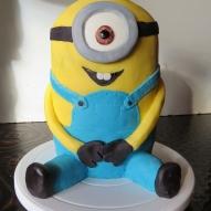 minion tårta