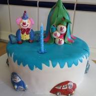 clown tårta