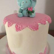 elefant tårta