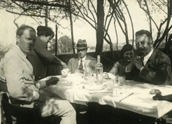 PB on a trip to Italy 1921-22.