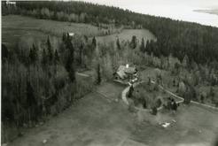Aerial photo Sommarhagen 1920's.