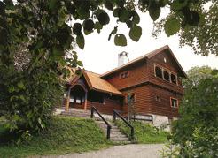 Postcard picture of Sommarhagen, Frösön.