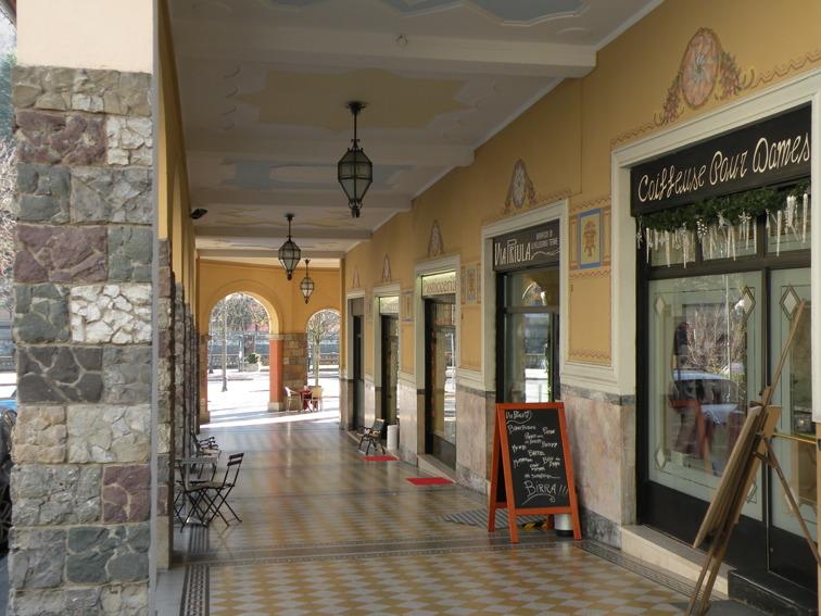 Gallerian Portici Colleoni från 1930