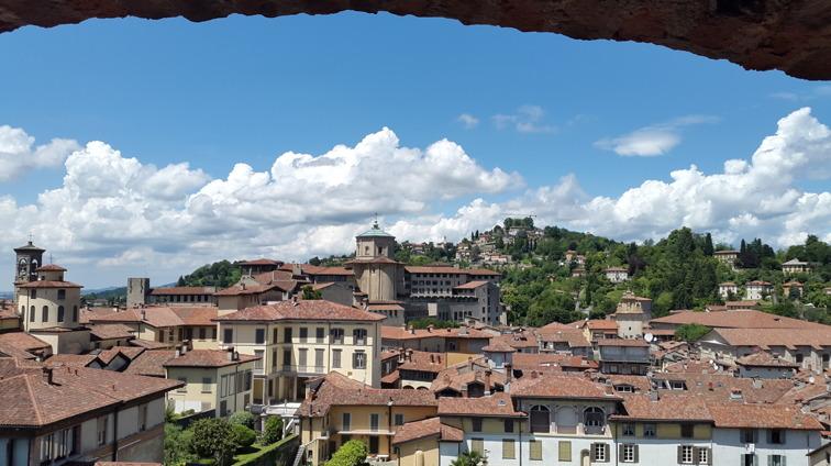 Utsikt från Bergamo