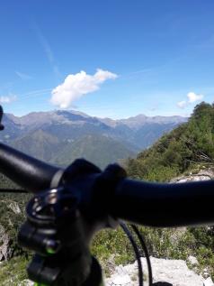 utsikt på cykelturen