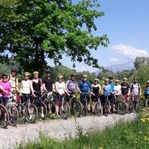 cykel grupp
