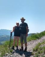 passegiata nelle montagne