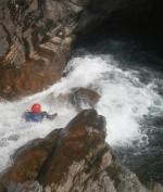 Canyoning vatten