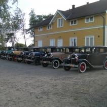 Träff för veteranbilar A-Ford
