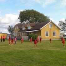 Fotbollsträning