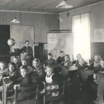 Skolsal Ledsgårds Folkskola