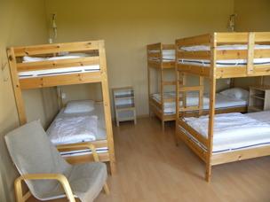 Våra rum på Björkängs Vandrarhem mellan Varberg & Falkenberg