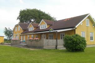 Björkängs Varndrahem vid kusten mellan Varberg & Falkenberg