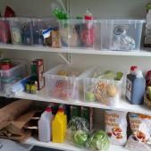 Gott om förvaring i köket