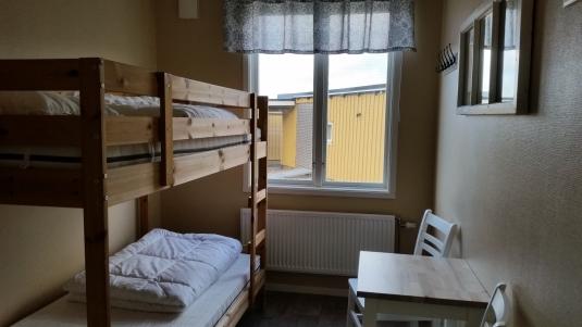 Billig rum / dubbelrum på Björkängs Vandrarhem mellan Varberg & Falkenberg