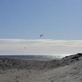 Kitesurfing i Björkäng