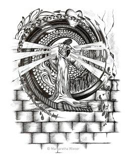 Muren rämnar