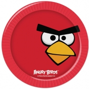 AngryBirds tallrik 8st 41kr
