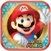 Mario tallrik 8st 44kr