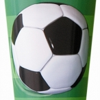 Pappmugg Fotboll 8st 19kr