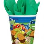 Pappmugg Turtles 8st 37kr