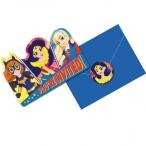 Inbjudningar DC superhero girls 8p 49kr
