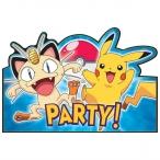 Inbjudningar Pokemon 8p 47kr