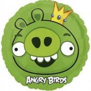 Folieballong Angry birds 45cm 38kr