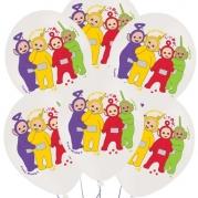 Ballonger Teletubbies 4-färg 27,5cm 6st 44kr