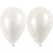 Ballonger vita 23cm 10st 20kr