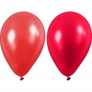 Ballonger röda nyanser 23cm 10st 20kr