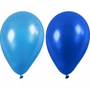 Ballonger blå nyanser 23cm 10st 20kr